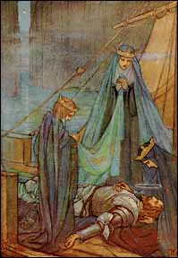 """The Passing of Arthur"" by Florence Harrison, 1912"